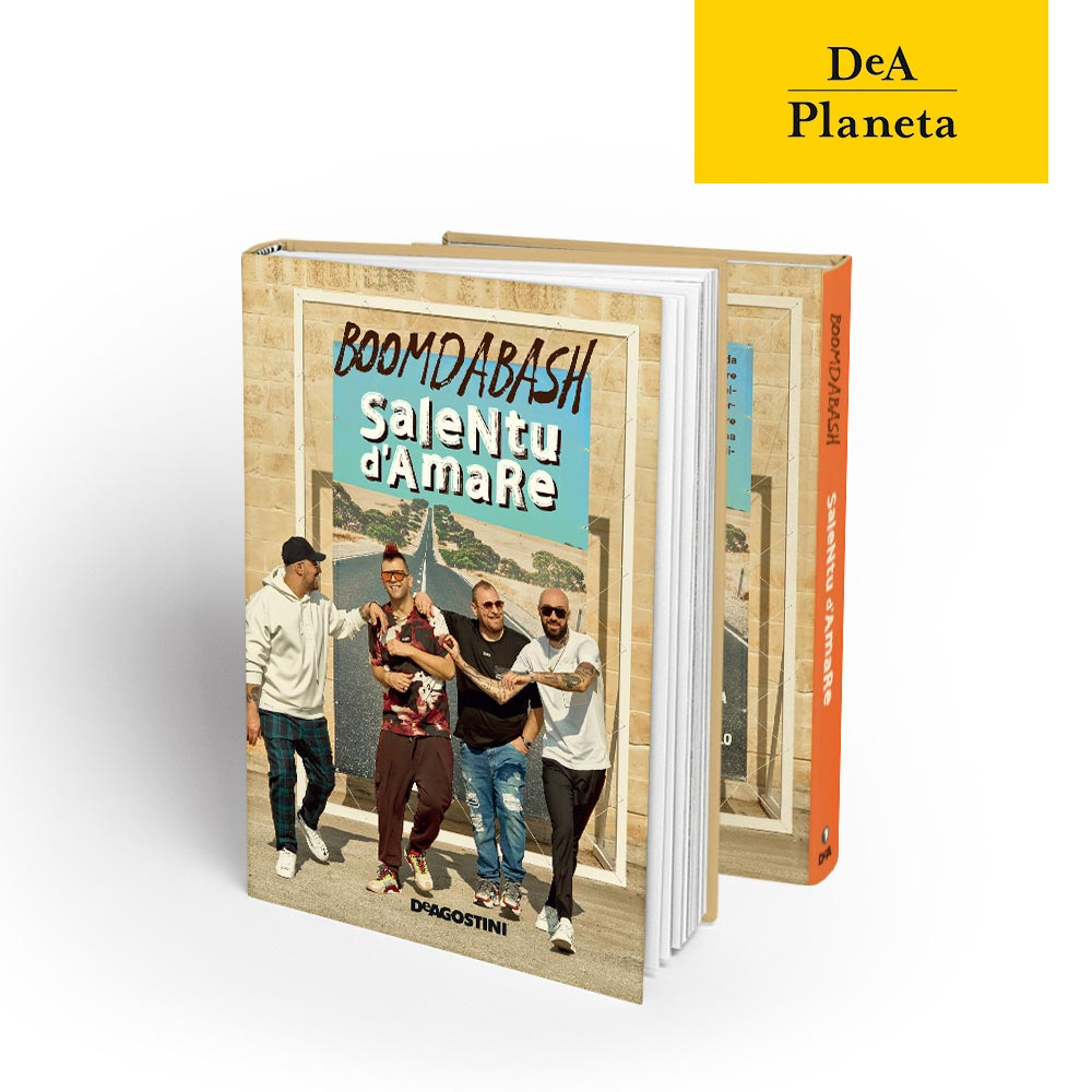 libro Salentu d'Amare, Boomdabash